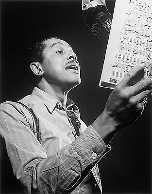 Cab Calloway American Blues Jazz Singer 10x8 Glossy Music Photo Print Picture