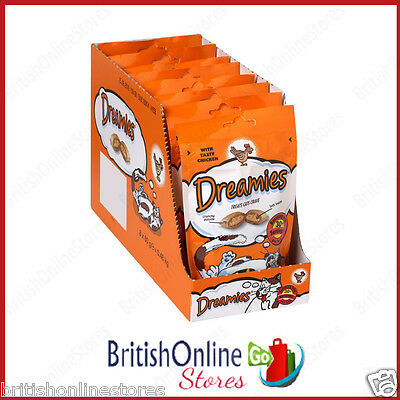 Dreamies Chicken 60g (Pack of 8)