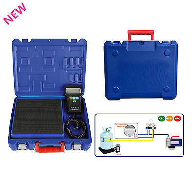 HVAC Digital Electronic Refrigerant Charging Scale 220 lbs  With Case SCALE US
