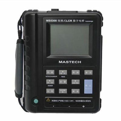 NEW!  MASTECH MS5308 Portable Handheld LCR Meter 100Khz Serial/Parallel Tester