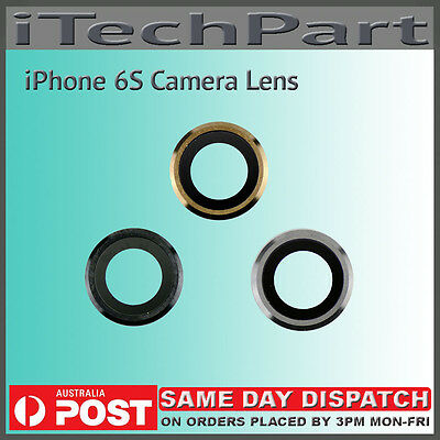 Rear Back Camera Lens Cover Replacement For iPhone 6S 4.7""