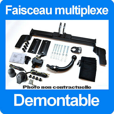 Ford Kuga 2008-2012 Attelage Demontable sans outils + Faisceau 7 Broches