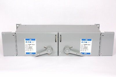 Cutler Hammer FDPWT3622J  Twin Fusible Panelboard Switch, 60A/60A, 600V, J Fuse
