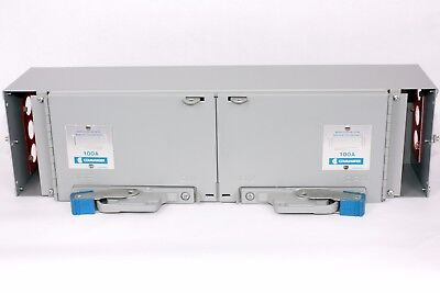 Commander QSF3336  Twin Fusible Switch QSF, 100A/100A, 600V, Switch Board Insert