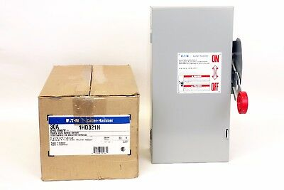 Cutler Hammer 1HD321N  30 Amp, 240V, Type 1, Fusible Switch