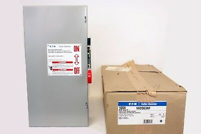 Cutler Hammer 1HD363NF  30 Amp, 3 Poles, 600V, Type 1, Non-Fusible Switch