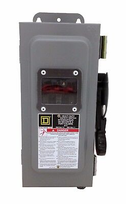 Square D CHU361AWK  30A, 600V, 3R Type Non Fusible Switch