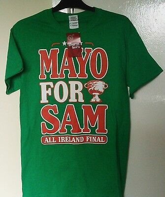 County Mayo (Ireland) GAA Official Gaelic Football T-Shirt (Adult Small)