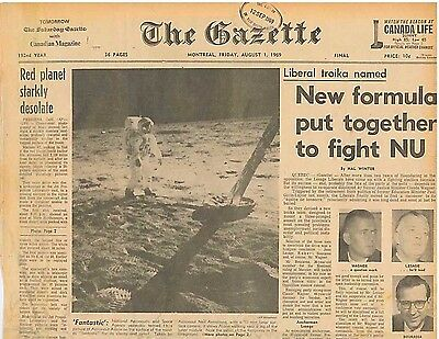 ASTRONAUTS FANTASTIC PICTURE Of Buzz Aldrin on the Moon August 1 1969 B1