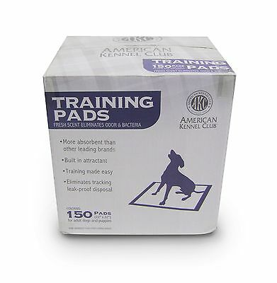 AKC Training Pads Fresh scent Pack of 150