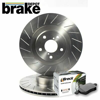 Ford Mondeo ST TDCI MK3 Front Evora Grooved Brake Discs and Mintex Pads