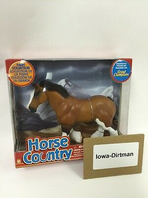 Grand Champions Horse Country Farm Collection Clydesdale 55010 Play Set New