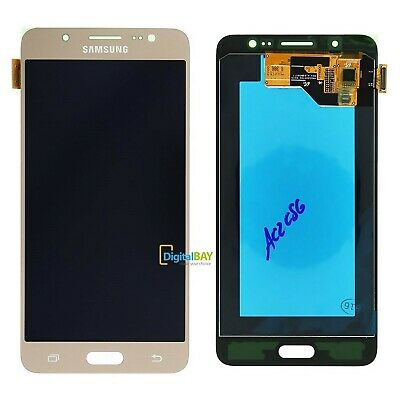 Display Schermo Lcd Service Pack Gold Oro Per Samsung Galaxy J5 2016 SM-J510