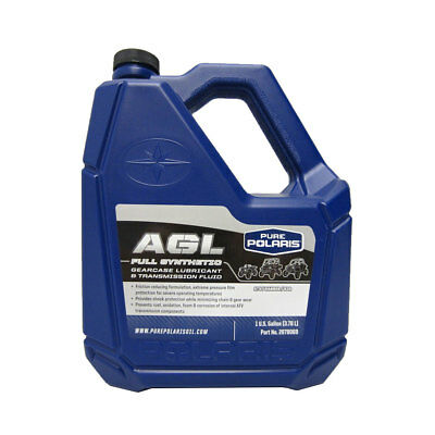 Polaris AGL Plus Synthetic Gearcase Oil Lube Lubricant Transmission Fluid Gallon