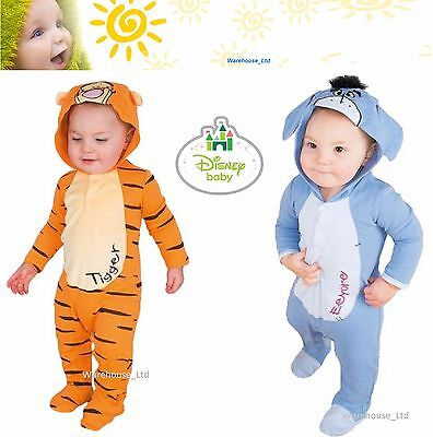 Disney Baby Childs Licensed Character Toddler Romper Suit Play Suit Fancy Dress