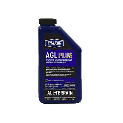 1 Quart OEM Polaris AGL Synthetic Gearcase Oil Lube Lubricant Transmission Fluid