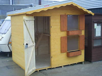 Children Playhouse 8X6 Tanalised excellent quality 2 tier kids house