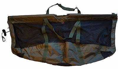 Deluxe Carp Floating Folding Carp Fishing Weigh Sling 123x60cm with Carry Pouch