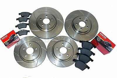 Ford Focus ST225 Performance Brake Discs Front Rear & Mintex Pads