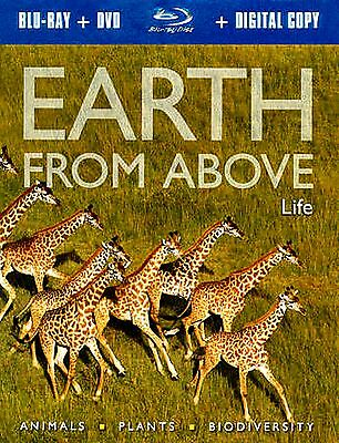 Earth From Above: Life (BRAND NEW Blu-ray+DVD+ DIGITAL COPY  2-Disc Set)