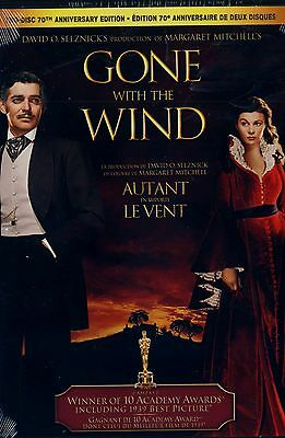 NEW 2DVD set // GONE WITH THE WIND // Clark Gable, Vivien Leigh, Leslie Howard,