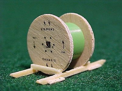 SIEMENS Cable Spools (2) w/ Green Cable #13263