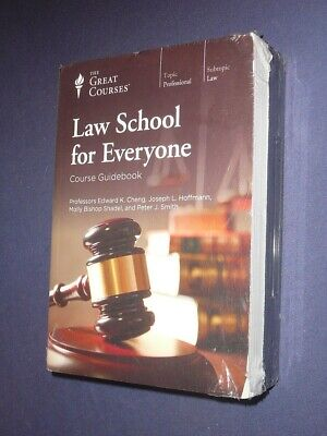 Teaching Co Great Courses DVDs :        LAW SCHOOL FOR EVERYONE   new & sealed