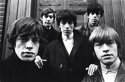 Rolling Stones 8X10 Music Band Photo Poster Art Picture Decor Print 010