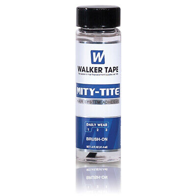 Walker Mity-Tite 1.4Oz Water Proof Toupee Acrylic Adhesive Glue Lace Wig Hair