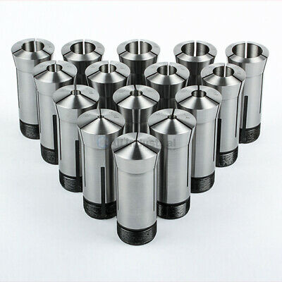"15 Pc 5C Collet Set Fractional 1/8"" to 1"" High Precision Lathe 15 Piece"