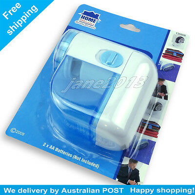 Electric Wool Sweater Fabric Shaver Trimmer Fuzz Cloth Pill Lint Remover blue