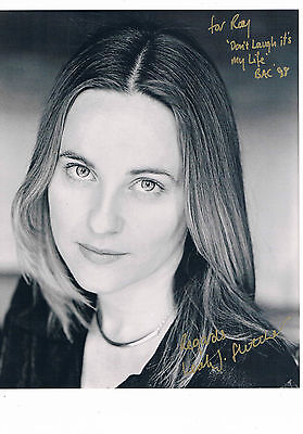 Leah Fletcher Television  and Theatre Actress  Hand Signed  Photograph 10 x 8