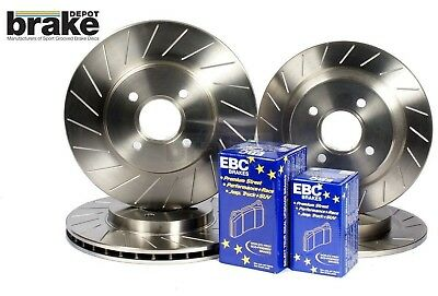 Maxda MX5 1.6 1.8 Brake Discs EBC Ultimax Pads Evora Performance Slotted Grooved
