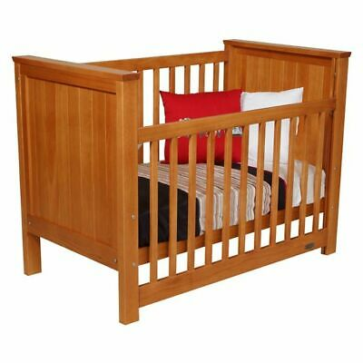 NEW Touchwood Metro Panelled Cot in Brown