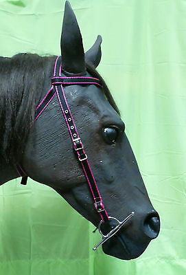 Official Libby's Half Bridle (CROWN) Mini, Small Pony, Pony, Cob, Full, X Full