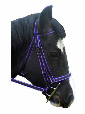 Official Libby's Click Bridle & Reins Set in Miniature Small Pony Pony Cob Full