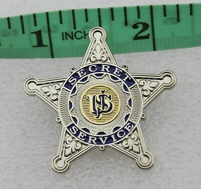 US Secret Service USSS silver star pin