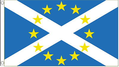 Scotland & European Union EU Friendship 5'x3' Flag