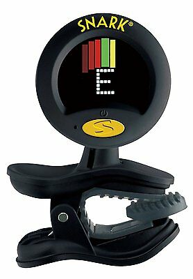 Snark SN-8 Super Tight All Instrument Chromatic Tuner With Metronome - Black