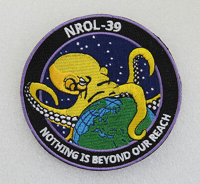 Nrol-39 Collector Octopus Space Spy Satellite Mission Patch