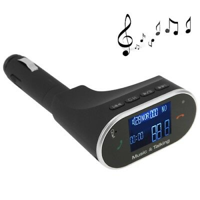TECH Music & Tacking Handsfree Car Kit FM Transmitter with Remote Control, Car