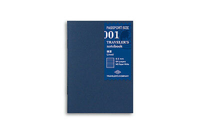 Midori Traveler's Notebook Passport size - 001. Lined Refill MD Passport Size