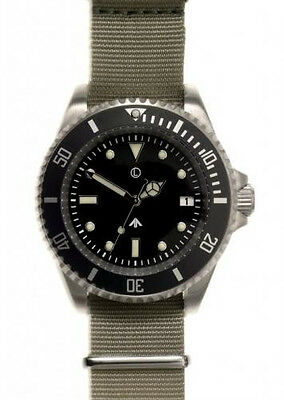 MWC Quartz 300m Stainless Steel Diver (Unbranded)