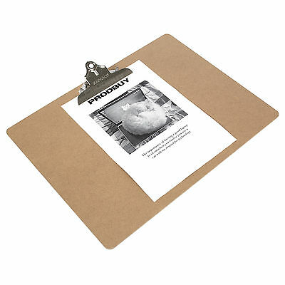2 x Rapesco Large A3 Clipboards Wooden Artists Drawing Sketching Boards Easels