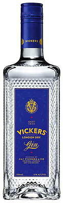 Vickers London Dry Gin 700ml