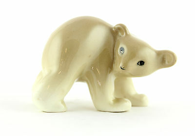 An early 1930's / 40's Midwinter pottery brown bear cub. English design.
