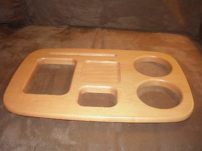 Longaberger Small Gathering Basket Road Trip WoodCrafts Lid - Classic Stain