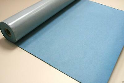 Self Adhesive Felt Baize Fabric Mini Rolls - LIGHT BLUE
