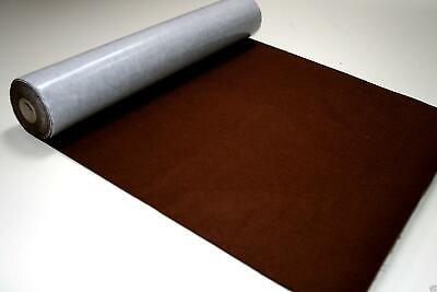 Self Adhesive Felt Baize Fabric Mini Rolls - BURNT SIENNA