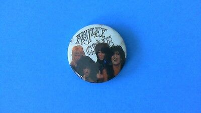 RARE Motley Crue Theater of Pain Era Pin Button! Unused Guns N Roses